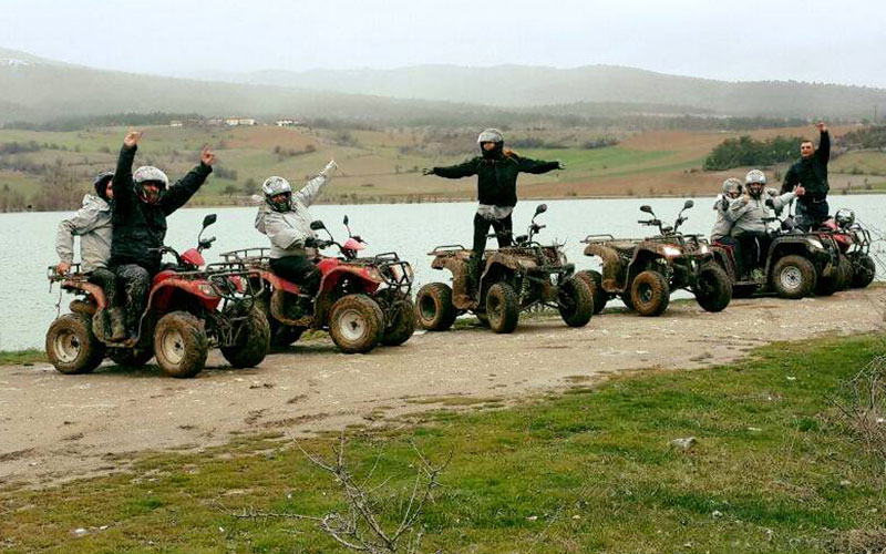 Yumurtacı Göleti ve ATV