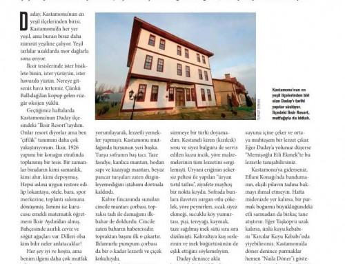Mehmet Yaşin – Atlas Dergisi – Haziran 2018