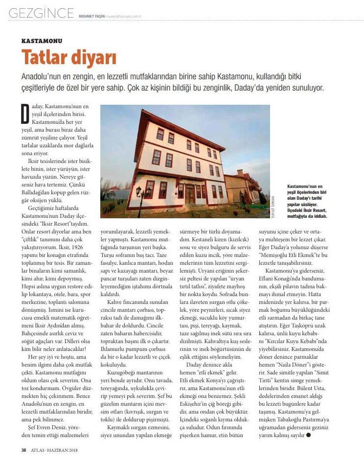 Atlas Dergisi Haberi