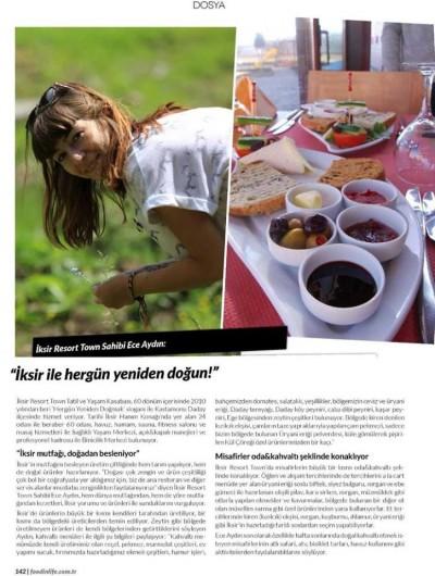 FoodinLife Dergisi – Ağustos 2015