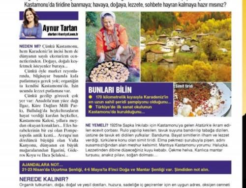 Aynur Tartan – Hürriyet – 3 Mart 2018