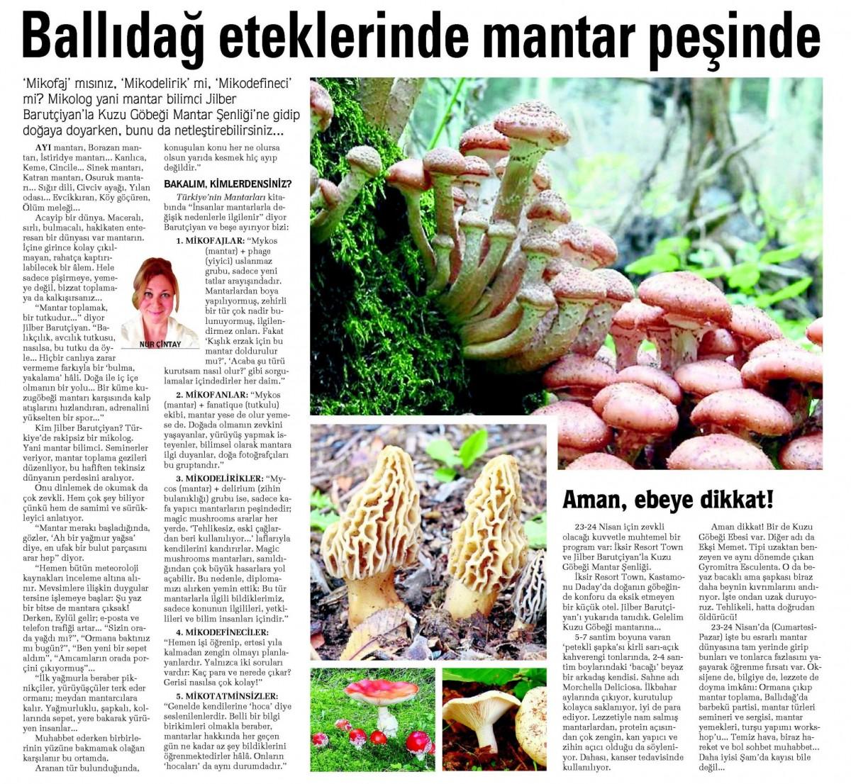 Sabah Gazetesi, Tatil Eki - 20 Mart 2016