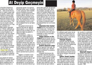 Son saat Gazetesi - 2 Nisan 2016