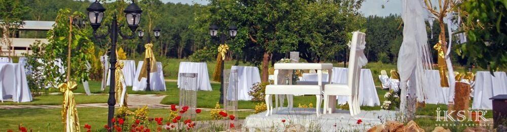 Kastamonu Otelleri Açık Hava Kır Düğünü