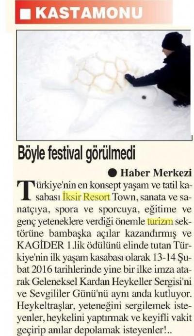 Ana Yurt Gazetesi - 4 Şubat 2016