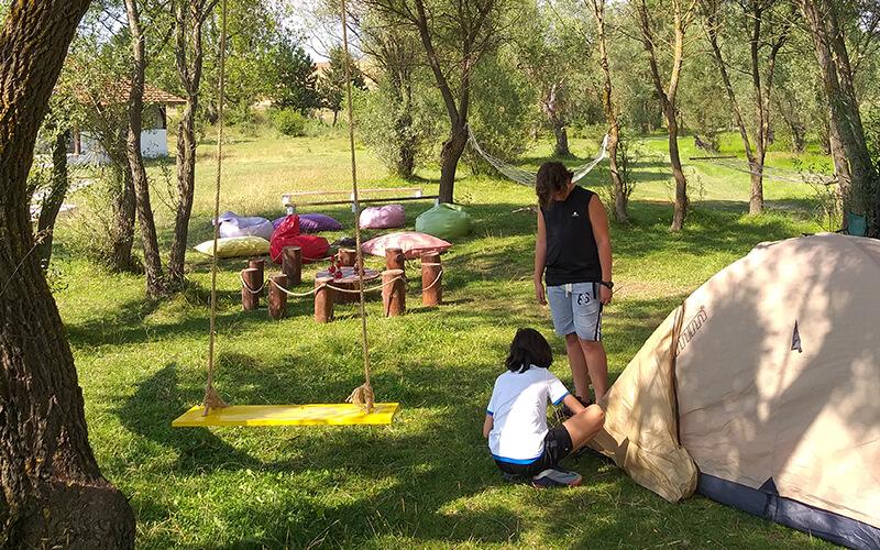 Baba ve Çocuk Kampı Çadır