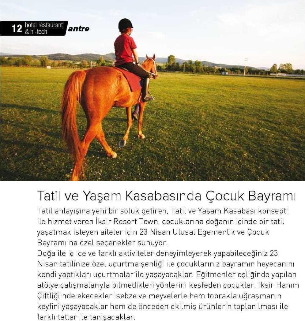 Basında İksir Resort Town Kastamonu Oteli Hi Tech 01 04