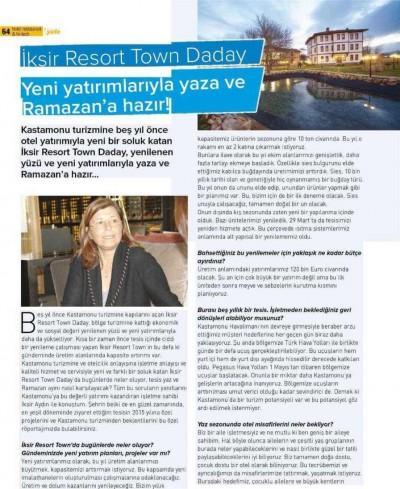 Basında İksir Resort Town Kastamonu Oteli Hi Tech 01 05