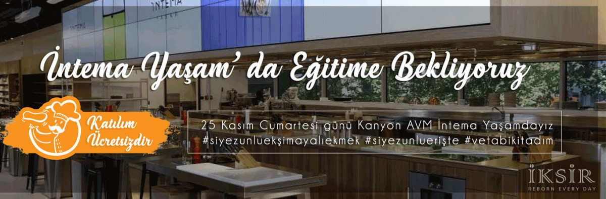 Kanyon AVM İntema Yaşam Workshop