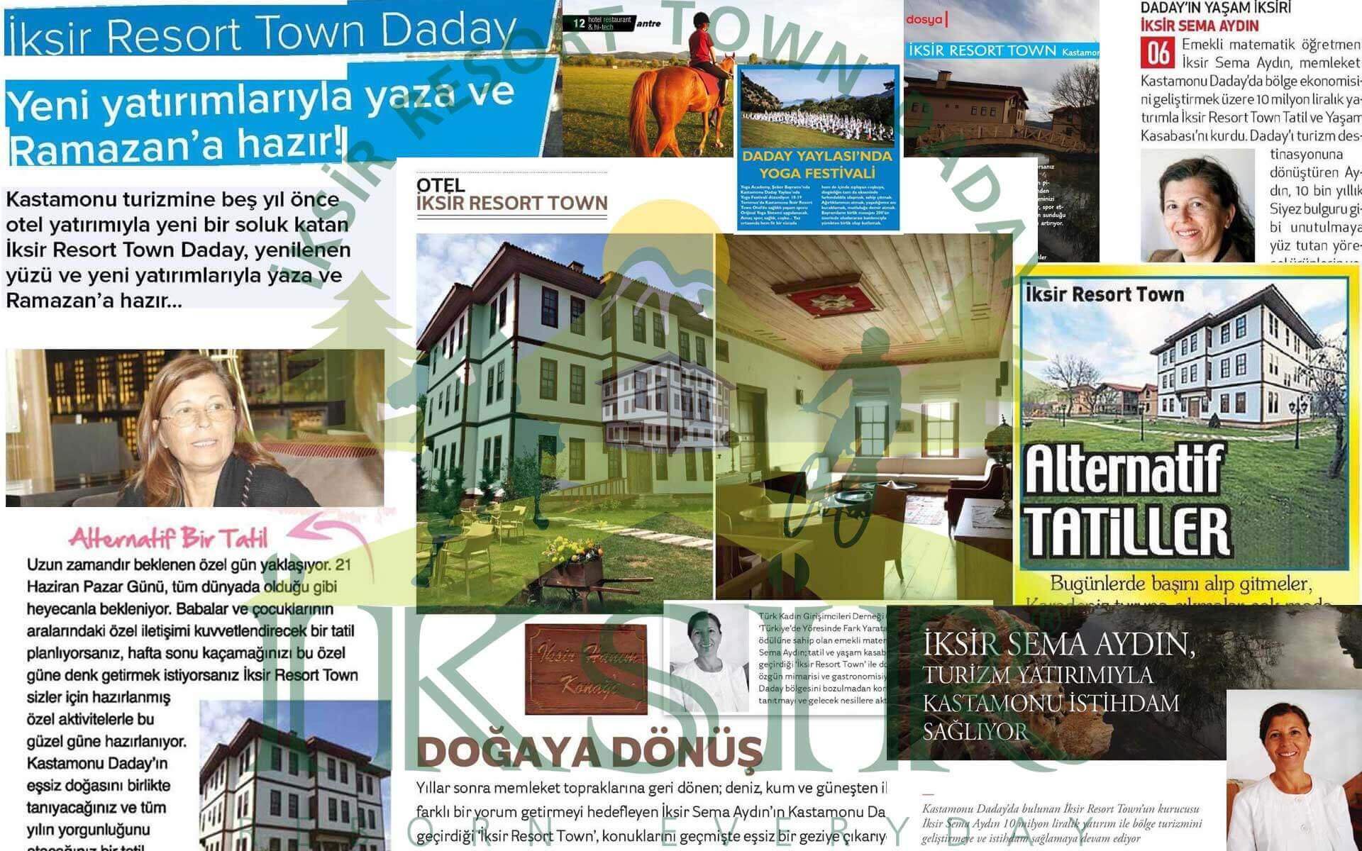 İksir Resort Town Basın Haberleri