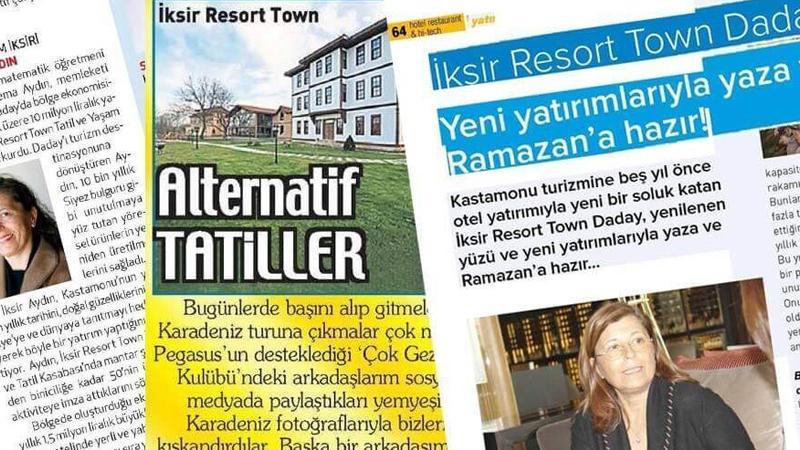İksir Resort Town Gazete Haberleri