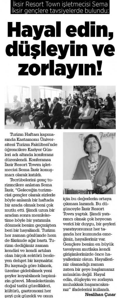 Kastamonu Açıksöz Gazetesi – 20 Nisan 2016