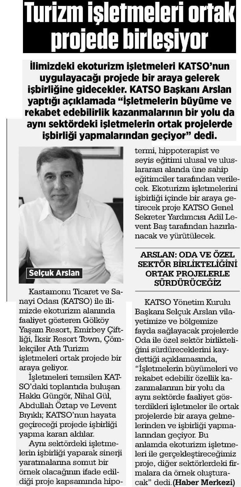 Kastamonu Açık Söz Gazetesi – 22 Şubat 2016