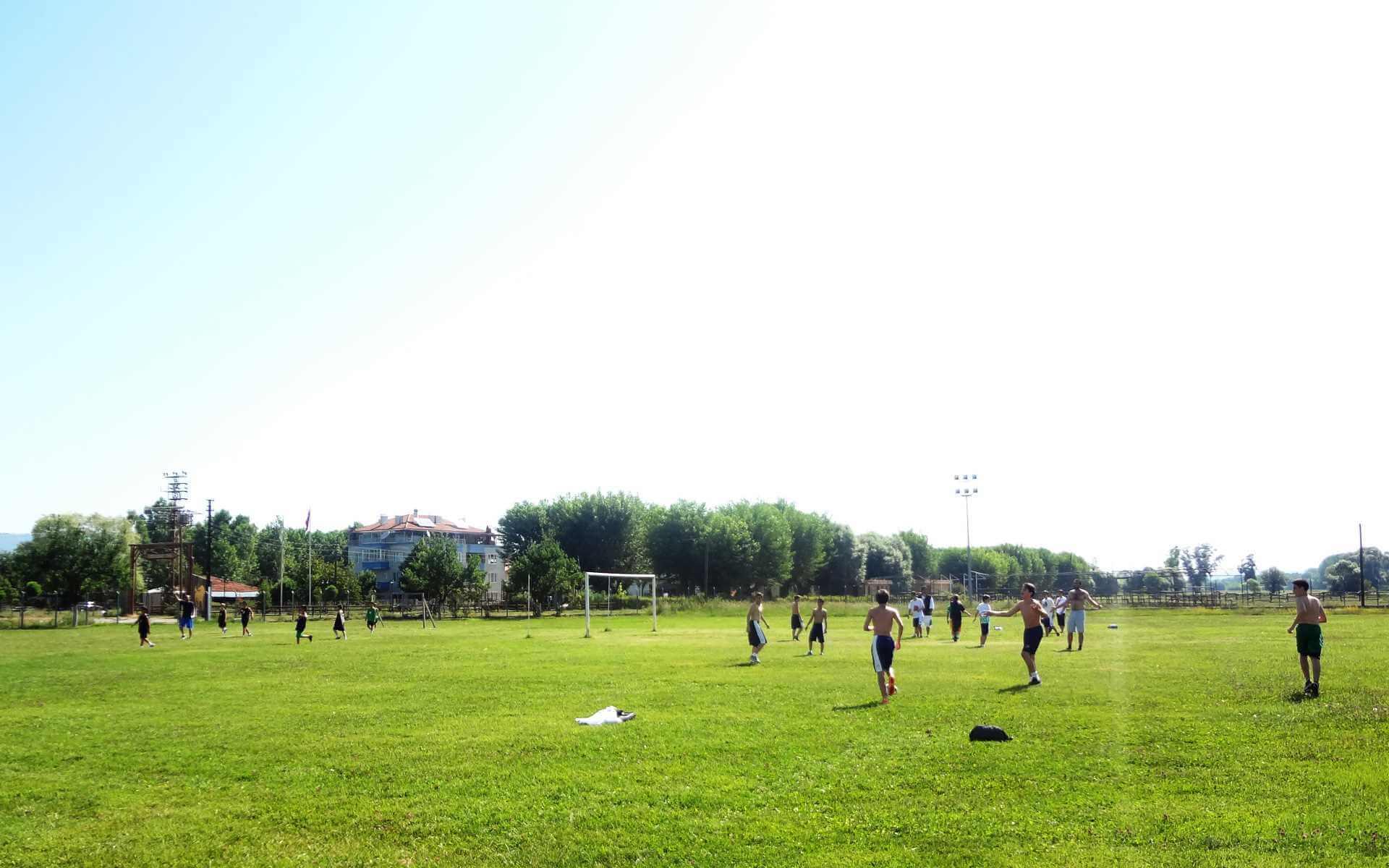 Kastamonu Futbol Etkinliği Çim Saha İksir Resort Daday