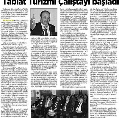 Kastamonu Gazetesi - 12 Nisan 2016