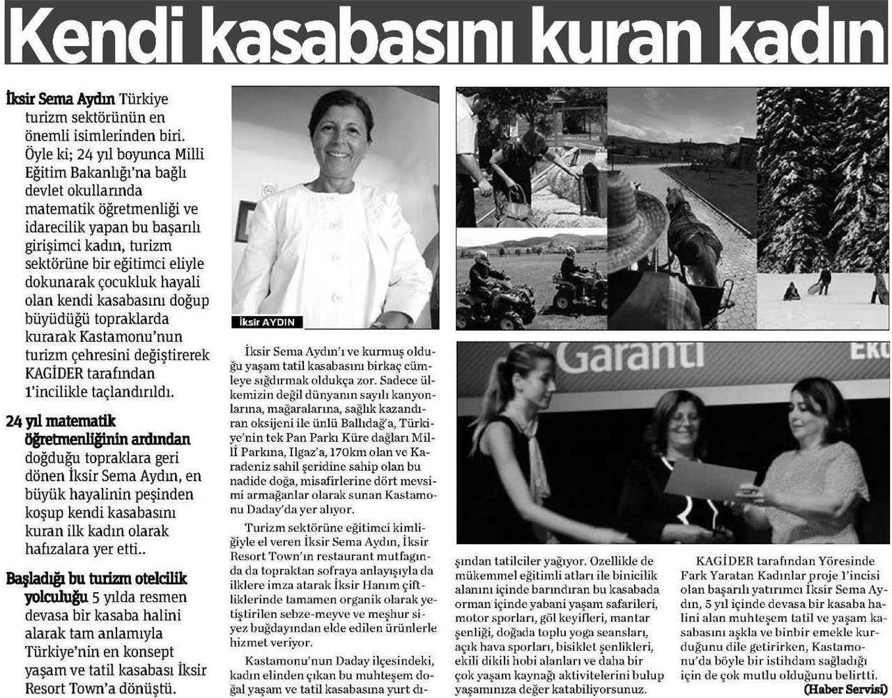 Kastamonu Gazetesi - 20 Ocak 2016