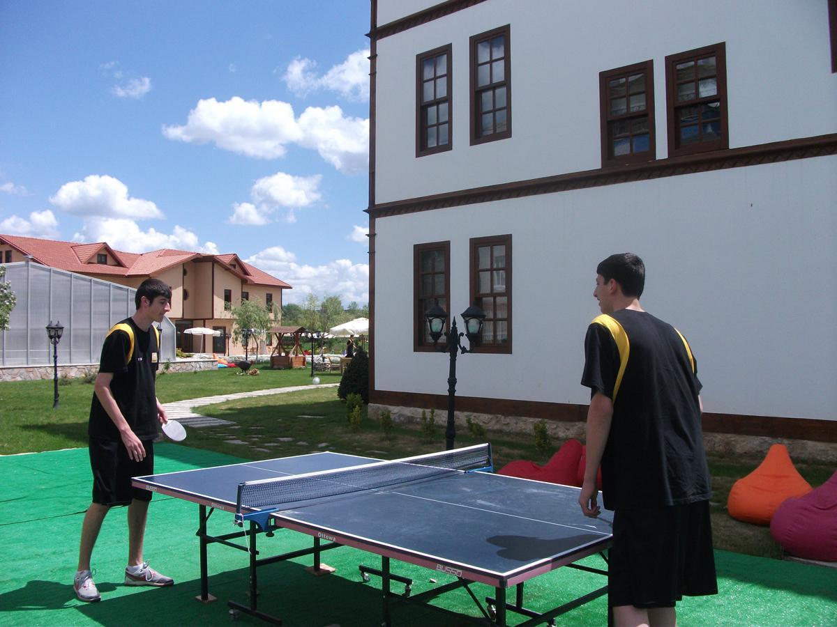 Kastamonu Oteli İksir Masa Tenisi