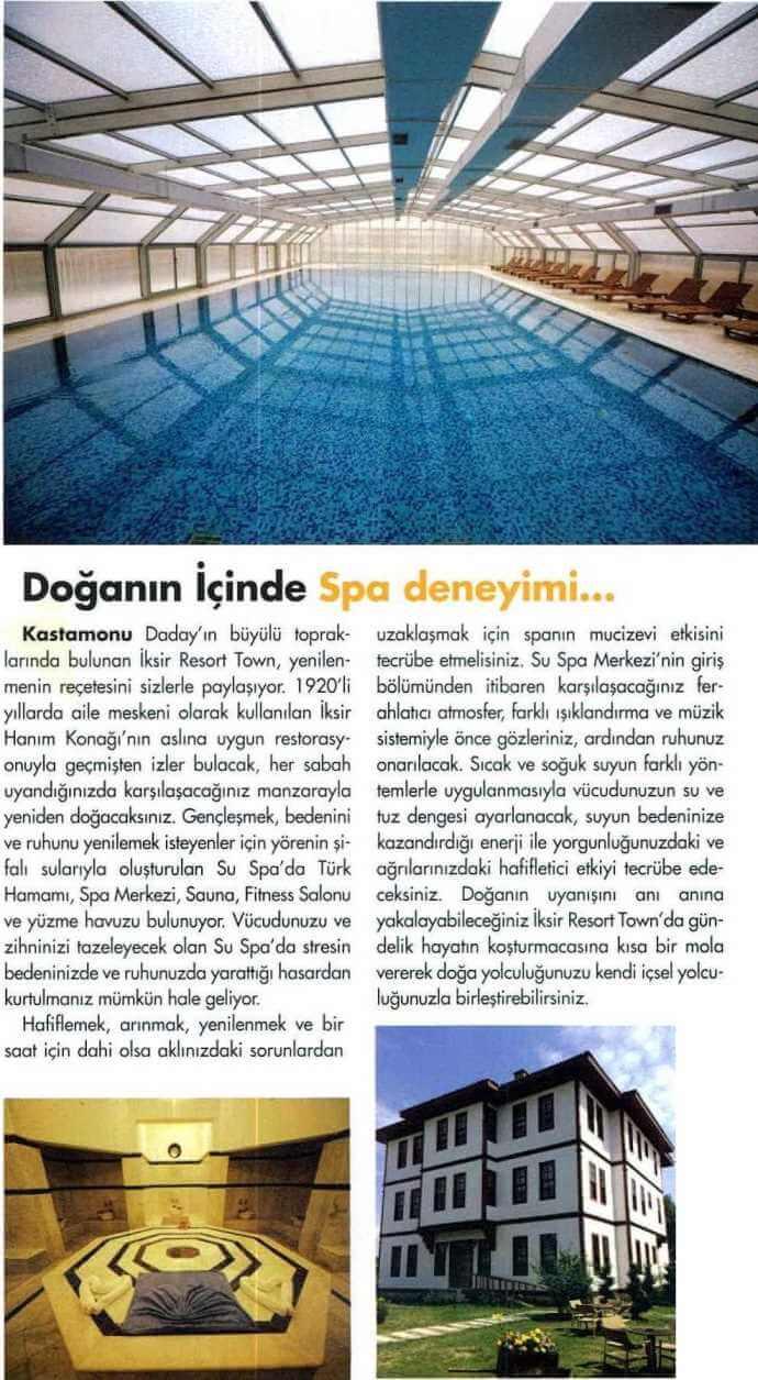 Basında İksir Resort Town Kastamonu Oteli Medikongre 01 - 04