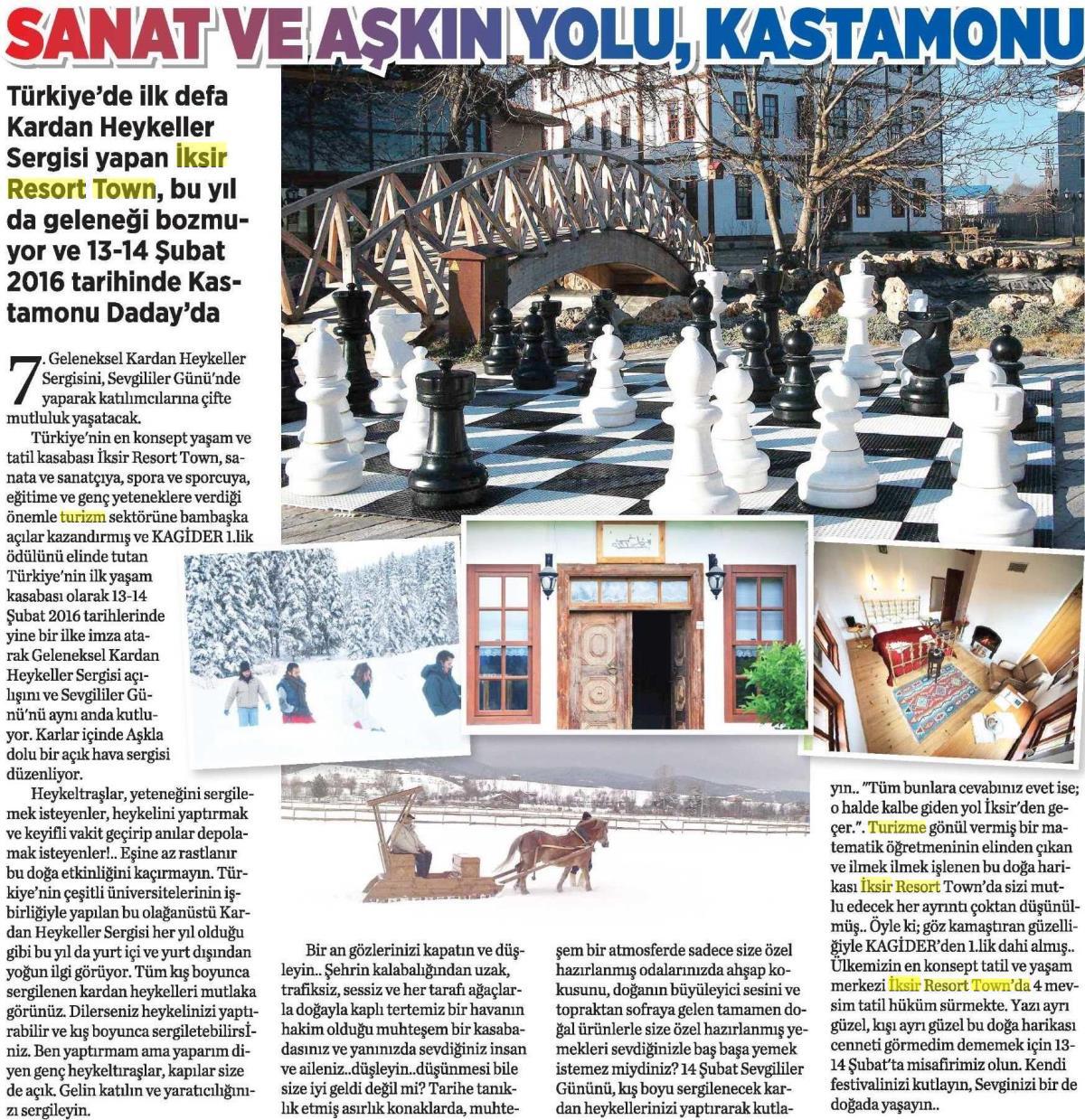 Milliyet Gazetesi Eki - 10 Şubat 2016