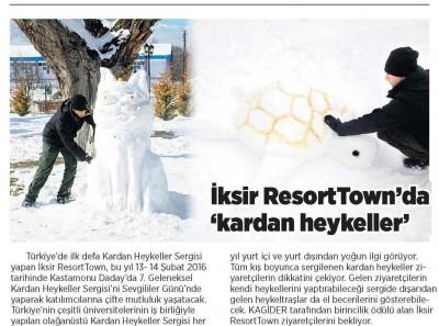 Milliyet Gazetesi, Orta Anadolu - 5 Şubat 2016