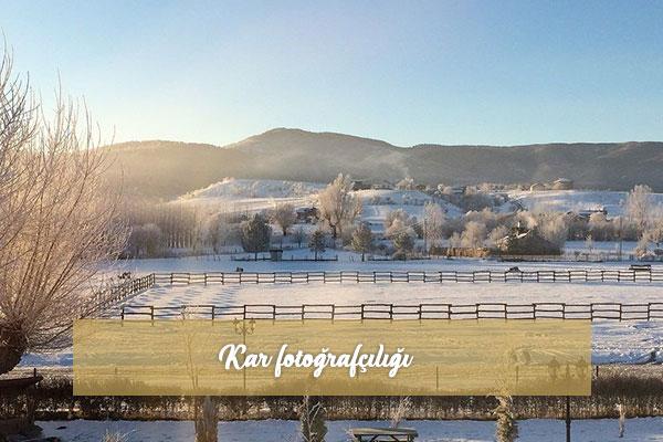Kar fotoğrafçılığı