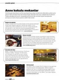 Basında İksir Resort Town Kastamonu Oteli Parents Dergisi 01 - 05