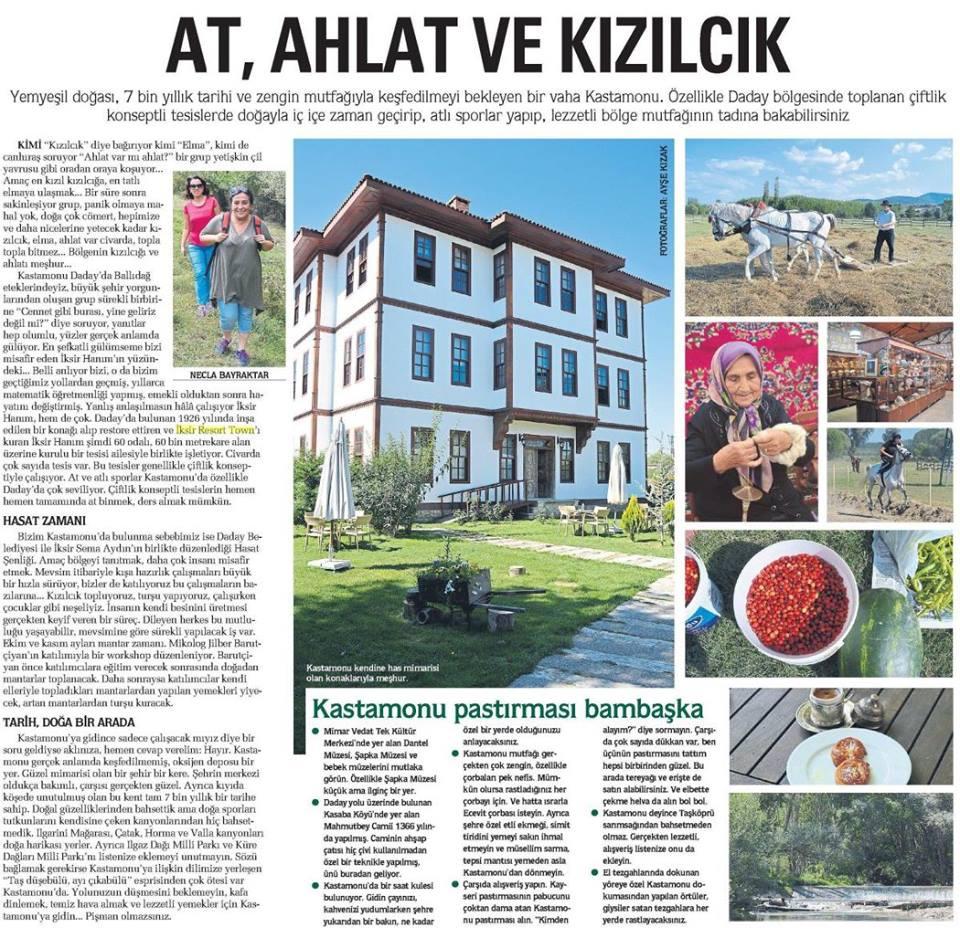 Sabah Gazetesi – 06 Eylül 2015