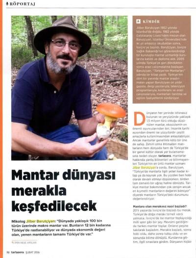 Tarla ve Sera Dergisi – Şubat 2016