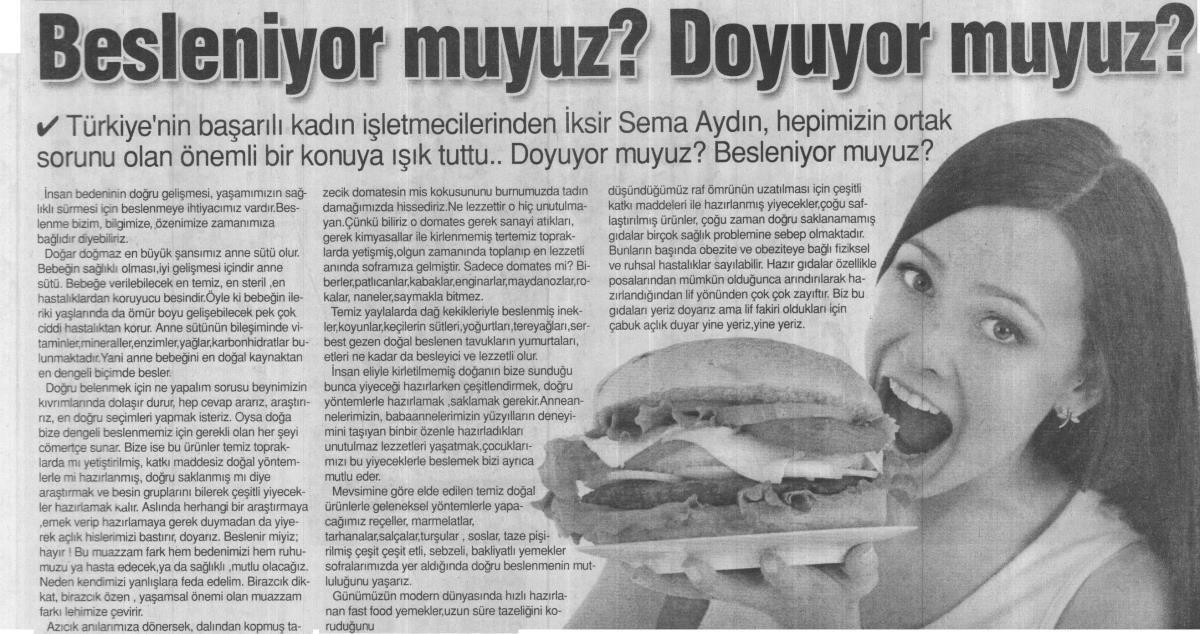 Tünaydın Gazetesi – 10 Mayıs 2016