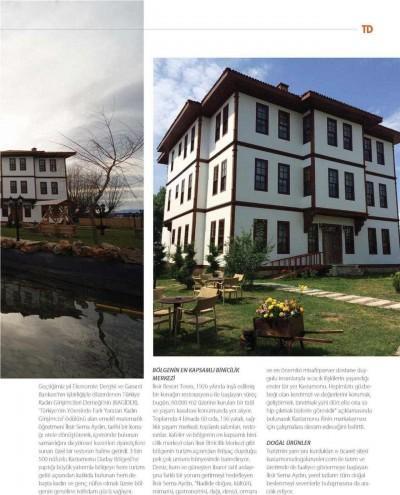 Basında İksir Resort Town Kastamonu Oteli Turizm Dünyası 01 - 05 - 2