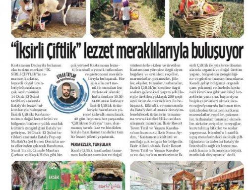 Akşam Gazetesi – 14 Ocak 2018
