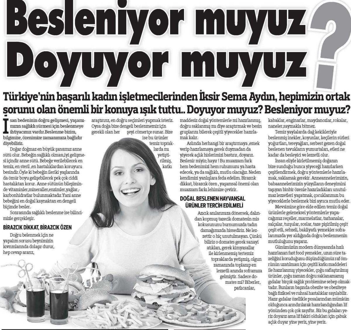 Yeni Birlik Gazetesi - 03 Mayıs 2016