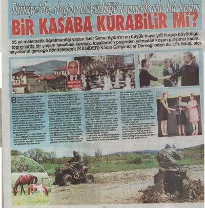 Yeni Gün Gazetesi – 10 Ocak 2016