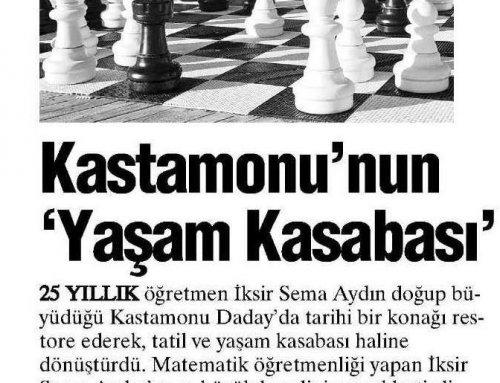 Yurt Gazetesi – 10 Ocak 2016